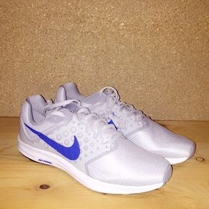 Men's Nike Blue & LIGHT Grey running shoes
