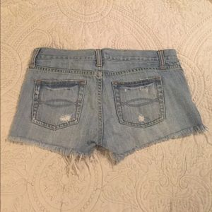 Abercrombie & Fitch Shorts - Abercrombie & Fitch. Cut Off Jean Shorts