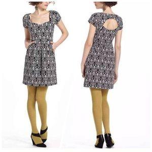Anthro Deletta Caledonia Cutout Dress