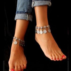 Jewelry - JUST IN! Bohemian Turkish Coin Ankle Bracelet.