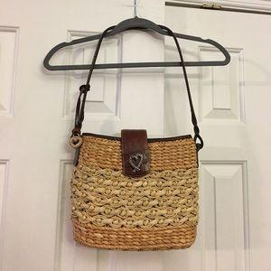 Brighton straw Purse handbag/tote-bag