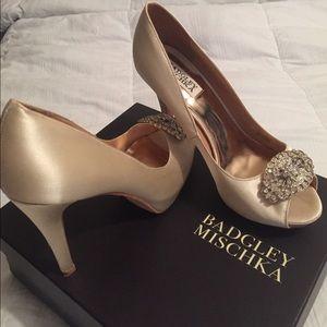 Ivory Badgley Mischka Heels