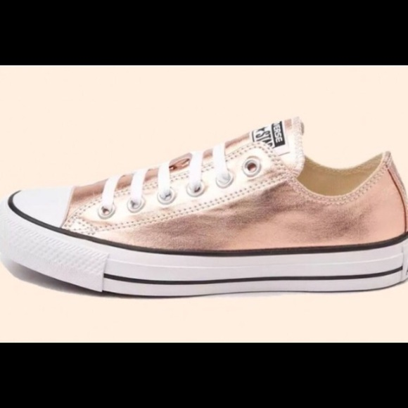 Converse Shoes   Rose Gold Converse