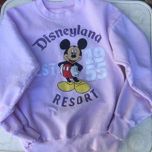 Disneyland resort sweatshirt pink vintage