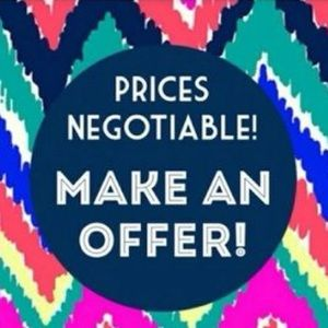 REASONABLE offers only please!