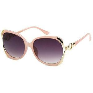 """New """"Abriana"""" transparent pink sunglasses"""