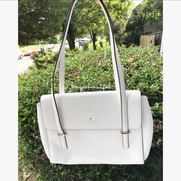 620b13758dbd kate spade Handbags - Kate Spade Cedar Street Small Luciana White