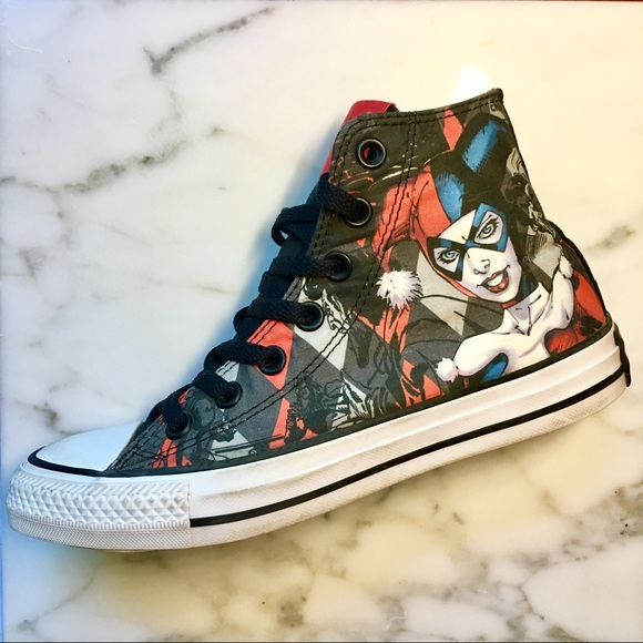d59f81318c97 Converse Shoes - Converse 🎪 Harley Quinn collab with D.C. Comics