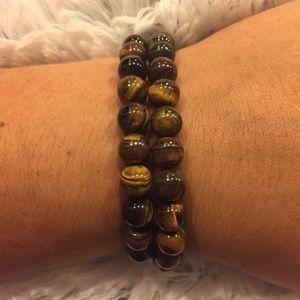 Jewelry - Tiger's eye crystal energy bracelet
