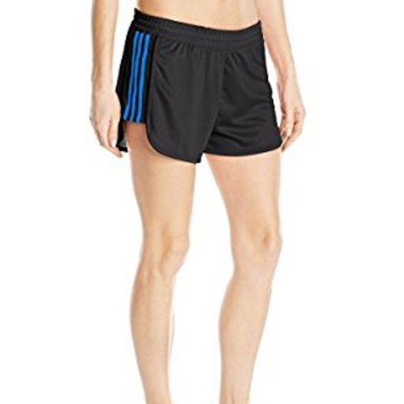 adidas climalite 3 stripe shorts