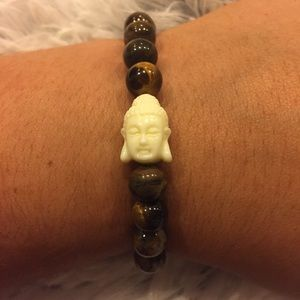 Jewelry - Tiger's eye Buddha energy bracelet