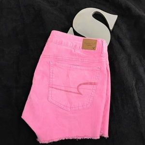 American Eagle pink cords size 6 stretch