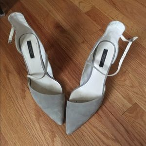 Grey Zara Shoes
