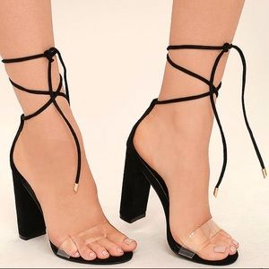 Shoes - Strapped heel sandals