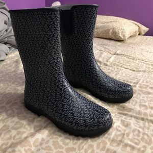 Sperry rain boots!!! Worn 1x!