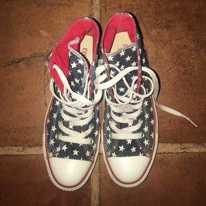 Converse American Flag Chuck Taylors