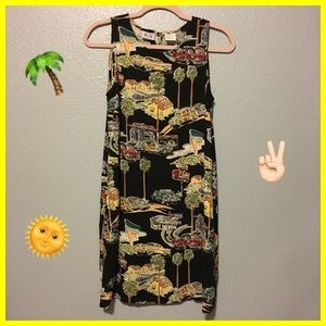 '90s Vintage🌴Island Vacation Vibes Summer Dress S
