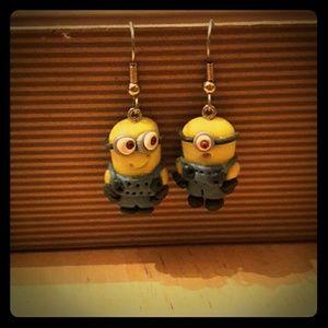 Jewelry - Handmade Minion Earrings