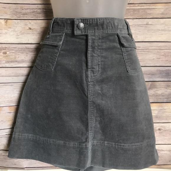 c0eab7be53 Patagonia Women's stretch corduroy skirt gray Sz10.  M_5969a0ca36d594964e00e099