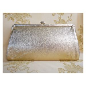 Old Hollywood Vintage Gold Clutch