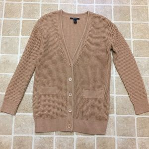 Oversized Size Small Forever 21 Cardigan Sweater
