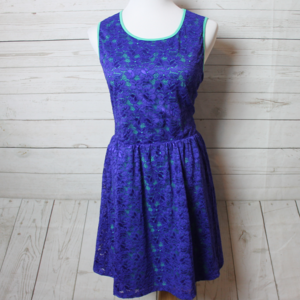 Lamour Nanette Lepore Floral Blue Dress