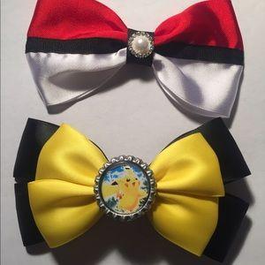 Other - Pokémon hair bows