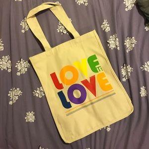 Handbags - Love is love tote bag