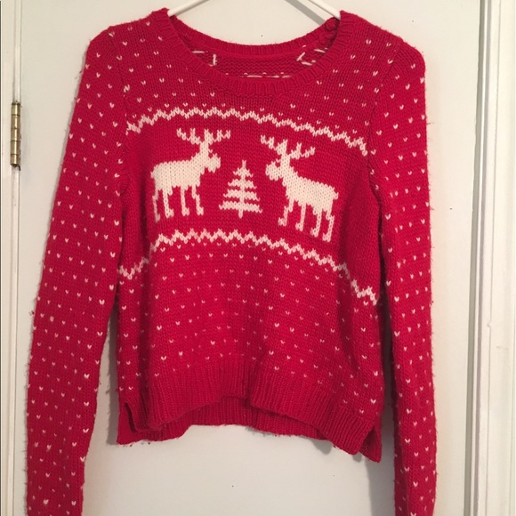 Fair Isle Christmas Sweater.Abercrombie And Fitch Fair Isle Christmas Sweater