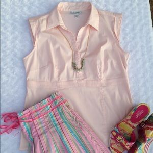 Dress Barn Pink Top Sleeveless