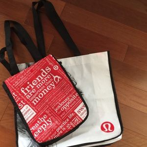 LuLuLemon Athletica bags