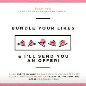 Other - All Bundles Will Get Discount or Free Shipping!!!