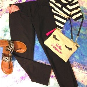 Reduced WILLI SMITH Black Slim Ankle Pants