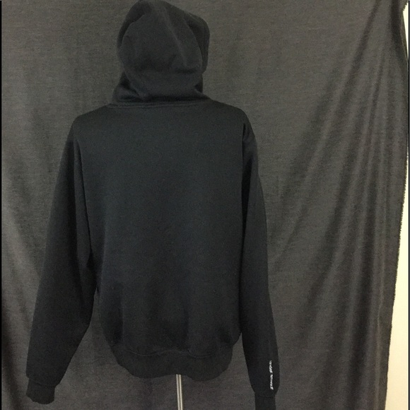 Under Armour Black And Gray Under Armour Hoodie From