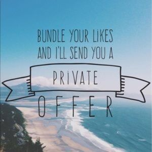 Bundle Your Likes & Get a Private Offer