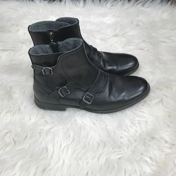 c8e7e9aa59f Men's Guess Leather Boots