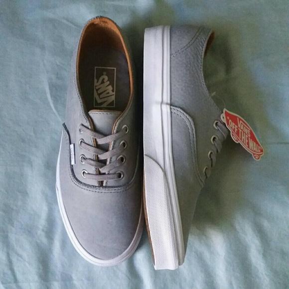 893c9364b76034 Vans Authentic Decon (Premium Leather) Wild Dove