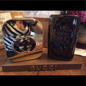 Rare Giant Gucci Display bottles!
