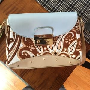 Spartina 449 blue and patterned purse
