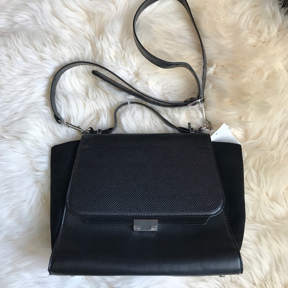 b52a5676c3 Zara Woman Trapeze Bag. M_596a2db24225be4546006b3d