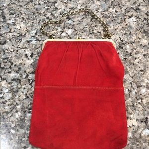 Handbags - Vintage Red Handbag