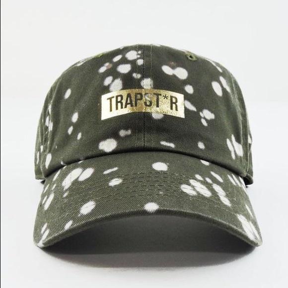 SuperlineATL Accessories - Bleached Trapst*r Dad Cap