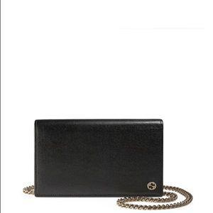 66c09f14e06 Gucci Bags - Gucci Betty Wallet On Chain Black Cross Body Bag