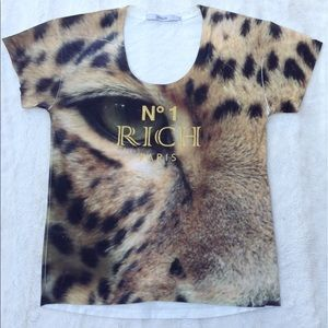 4 for $20 Cheetah Print Shirt