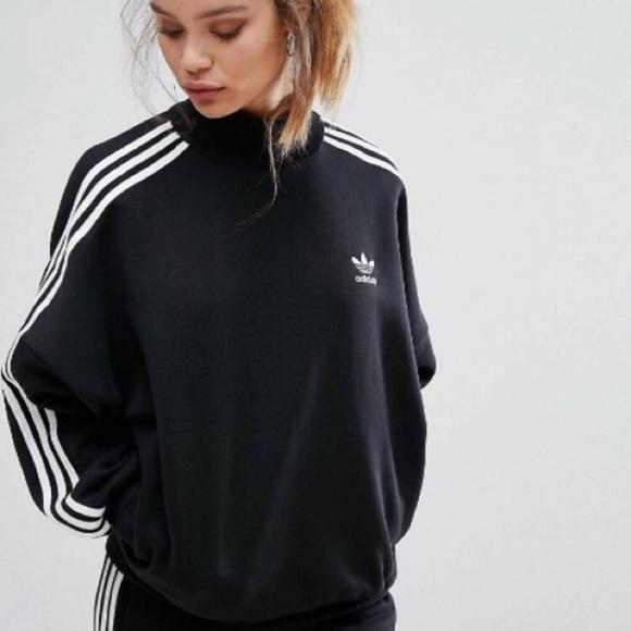 half price exquisite style high quality Adidas High Neck Sweatshirt NWT