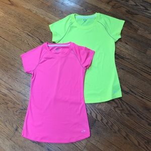 NWOT 2 Champion athletic tops. Size XS