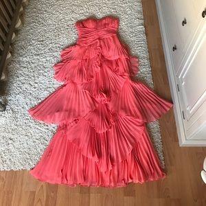 Salmon gown from DESIGNER DALIA MACPHEE