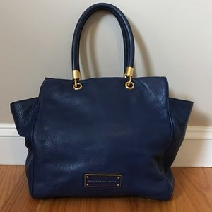 Marc by Marc Jacobs blue bucket bag