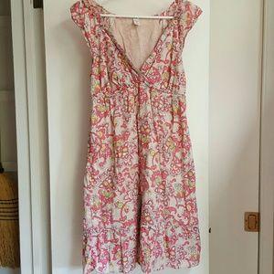 Old Navy Linen Cotton Dress