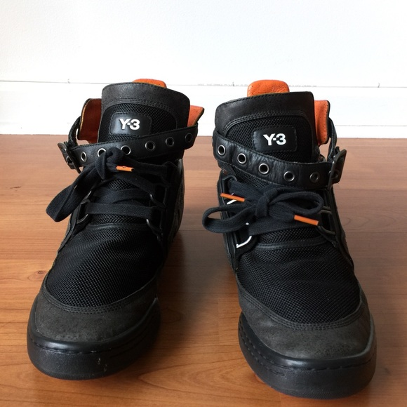 f54224e508f0 Y-3 Yohji Yamamoto Sneakers Black. M 596a49414225be0a1d00d812